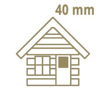 40 mm Wandstärke