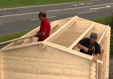 10 Fehler beim Gartenhaus Aufbau