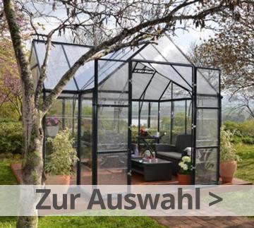 Gewächshaus/Hochbeete