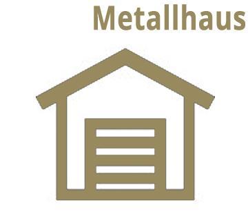 Metall Garten- und Gerätehäuser