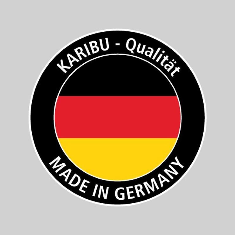 Karibu Gartenhaus Teplitz 2 - 19 mm Wandstärke Premiun Pultdachhaus - naturbelassen