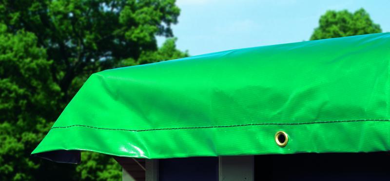 Karibu Winterabdeckplane für Pool Modell 2