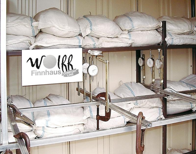 Wolff Finnhaus Metallgartenhaus Nagoya rauchgrau, komplett, m. Tür Wandmaß: 253 x 192,2