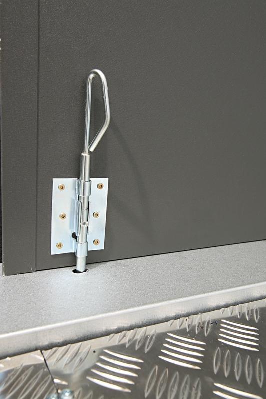 Wolff Finnhaus Metall-Gartenhaus Eleganto 2121 Weiß Wandmaß: 208 x 208