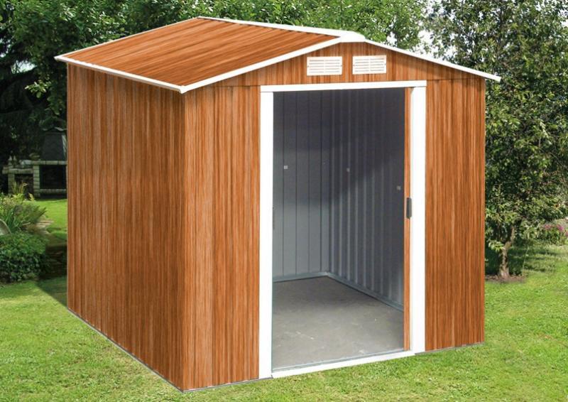tepro ger tehaus metall riverton 6x6 gr n. Black Bedroom Furniture Sets. Home Design Ideas
