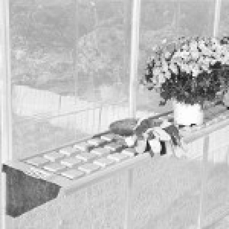Tepro Hängebord - 126x30cm