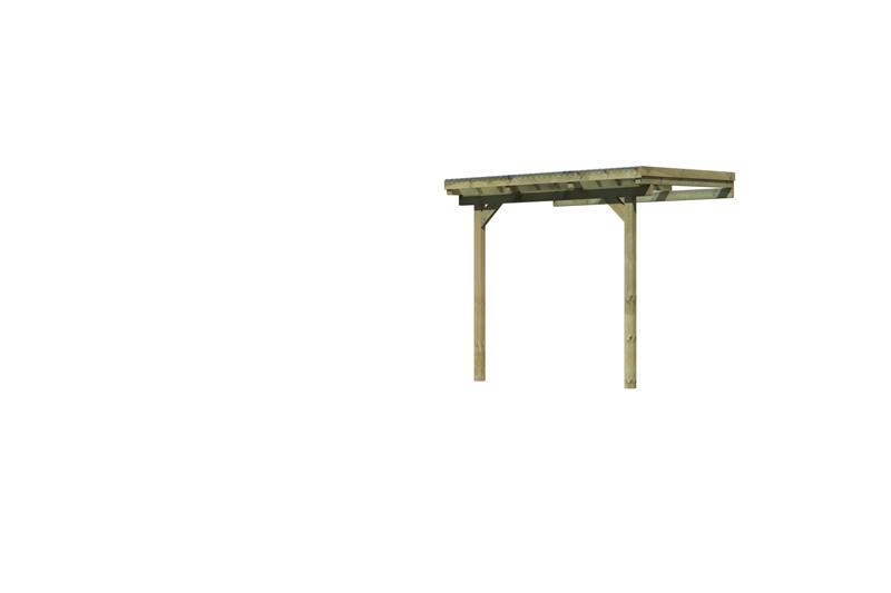 Karibu Holz Terrassenüberdachung Modell 1 ECO - Grösse A (235 x 244) cm - kdi