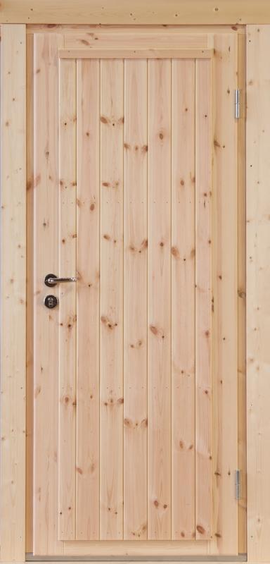 Wolff-Finnhaus Holz-Gartenhaus-Einzel-Tür Erik XL (extra hohe Türe) 40