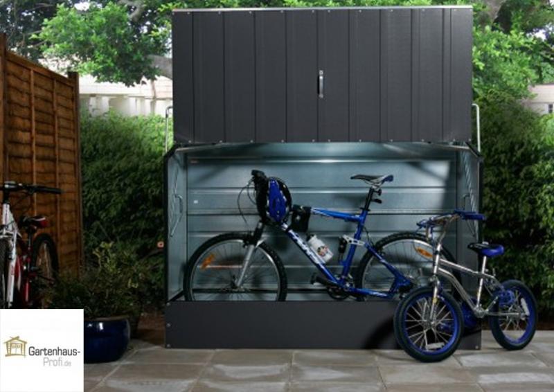 Tepro Metall Fahrradbox - anthrazit