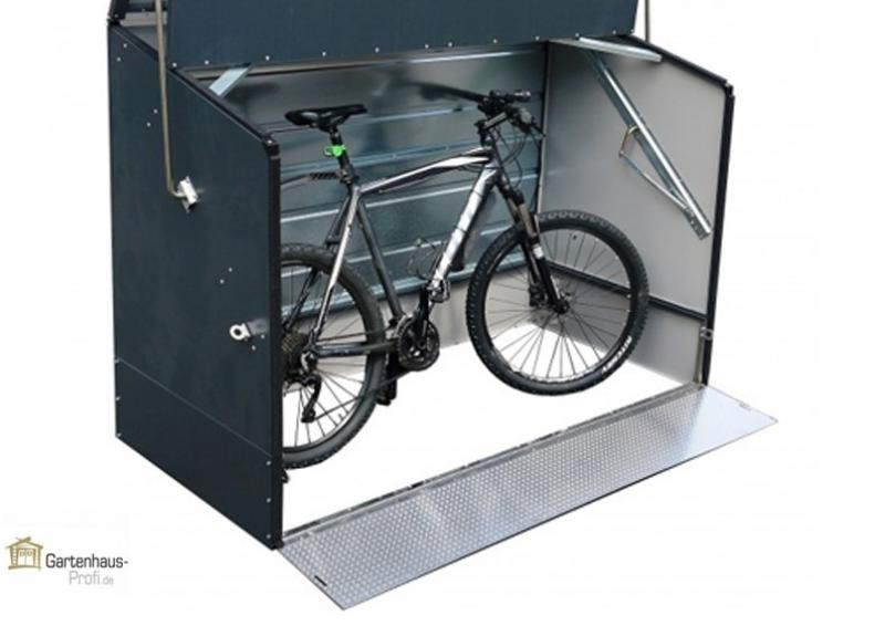 Tepro Metall FahrradboxBIG  - anthrazit