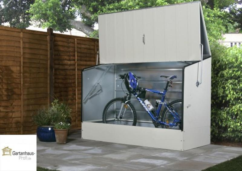 tepro metall fahrradbox hellbeige. Black Bedroom Furniture Sets. Home Design Ideas