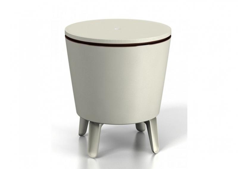 Tepro Cool Bar grün/weiß - ECOM - Kühlbox + Beistelltisch