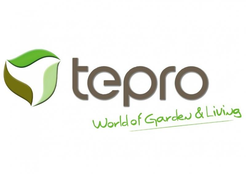 Tepro Kunststoff Aufbewahrungsbox -schrank Store It Out MIDI 845 L - beige-hellbraun