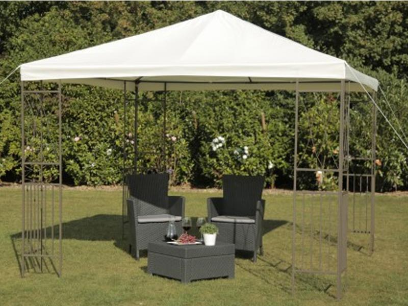tepro metall garten pavillon kaemi creme. Black Bedroom Furniture Sets. Home Design Ideas