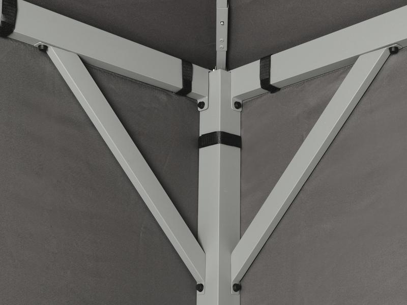tepro metall garten pavillon kabara anthrazit. Black Bedroom Furniture Sets. Home Design Ideas