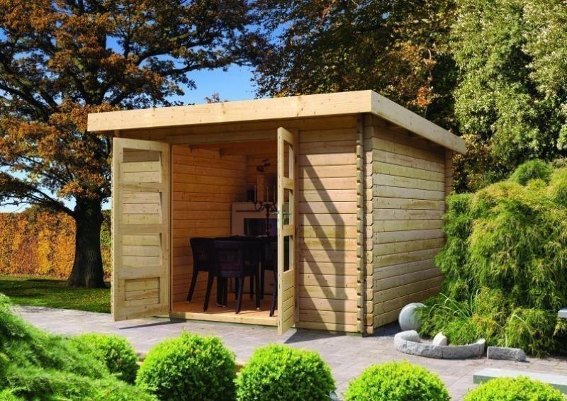 gartenhaus holz 28 mm pultdach my blog. Black Bedroom Furniture Sets. Home Design Ideas