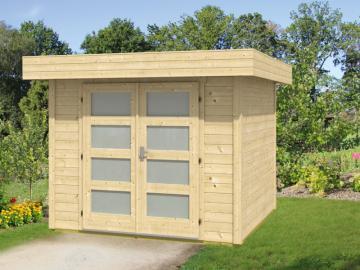 Wolff Finnhaus Holz-Gartenhaus Varianta B basic