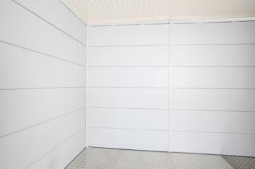 Wolff Finnhaus Metall-Gartenhaus Eleganto 2424: Innenwand