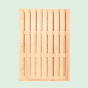 Wolff Finnhaus GartenHolz Gartenpavillon aus Holz Kreta 8: Wandelement geschlossen groß