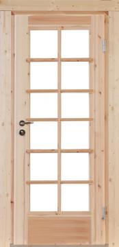 Wolff-Finnhaus Holz-Gartenhaus-Einzel-Tür Nils 40