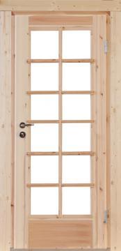 Wolff-Finnhaus Holz-Gartenhaus-Einzel-Tür Nils 70 Iso