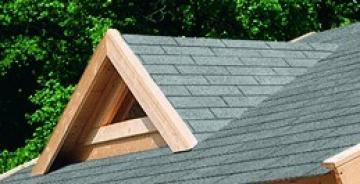 Karibu Dachgaube für 40 mm Häuser - natur