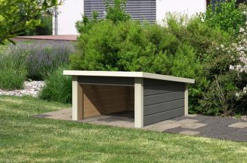rasenm her roboter garage aus holz jetzt online kaufen. Black Bedroom Furniture Sets. Home Design Ideas
