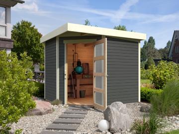 5 eck gartenhaus aus holz g nstig kaufen. Black Bedroom Furniture Sets. Home Design Ideas