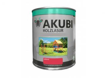 Holz-Lasur Rubinrot Farbe Set 750 ml