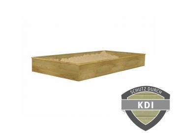 Woodfeeling Sandkasten für Stelzenhaus Benjaminkesseldruckimprägniert