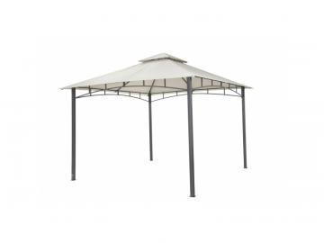 "Tepro Metall Garten Pavillon ""Waya"" hellgrau"