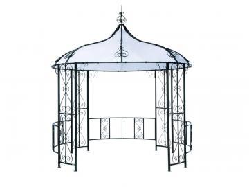 """Tepro Metall Garten Pavillon """"Rowa"""" weiß"""