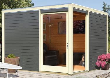 gartenhaus wpc gartenm bel. Black Bedroom Furniture Sets. Home Design Ideas