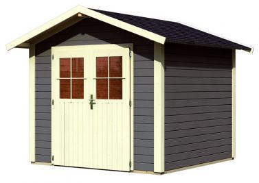 woodfeeling gartenhaus linau 4 satteldach 28 mm system natur. Black Bedroom Furniture Sets. Home Design Ideas