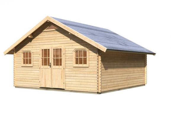 karibu girion 6 preisvergleich gartenhaus g nstig. Black Bedroom Furniture Sets. Home Design Ideas