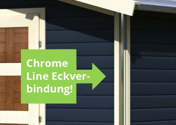 karibu gartenhaus angelburg 3 satteldach 40 mm system opalgrau. Black Bedroom Furniture Sets. Home Design Ideas