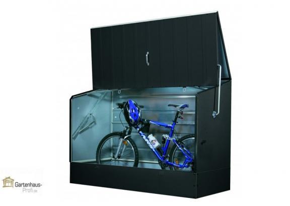 tepro metall fahrradbox anthrazit. Black Bedroom Furniture Sets. Home Design Ideas