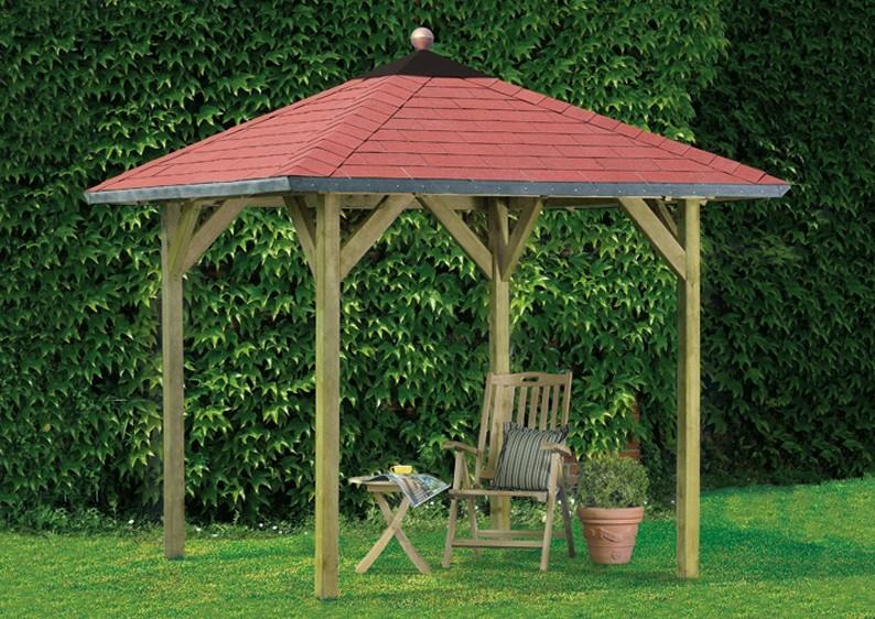 karibu holzpavillon lillehammer 1 4 eck pavillon eco kdi. Black Bedroom Furniture Sets. Home Design Ideas