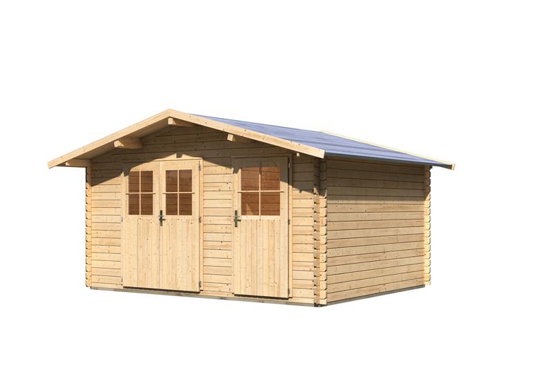 woodfeeling gartenhaus radur 1 satteldach 28 mm. Black Bedroom Furniture Sets. Home Design Ideas