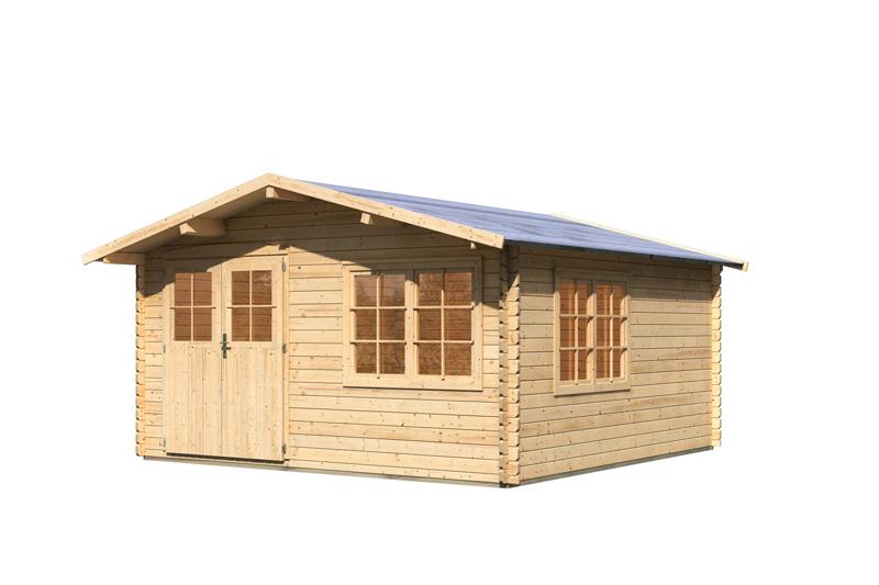 Gartenhaus Mit Fußboden 28mm ~ Gartenhaus g inkl fußboden und schleppdach mm