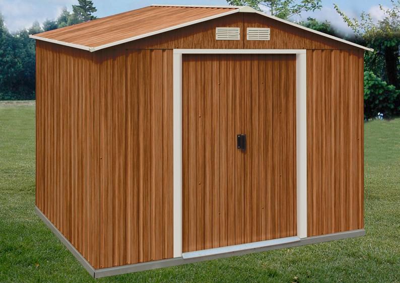 tepro ger tehaus metall titan 8x6 gr n. Black Bedroom Furniture Sets. Home Design Ideas