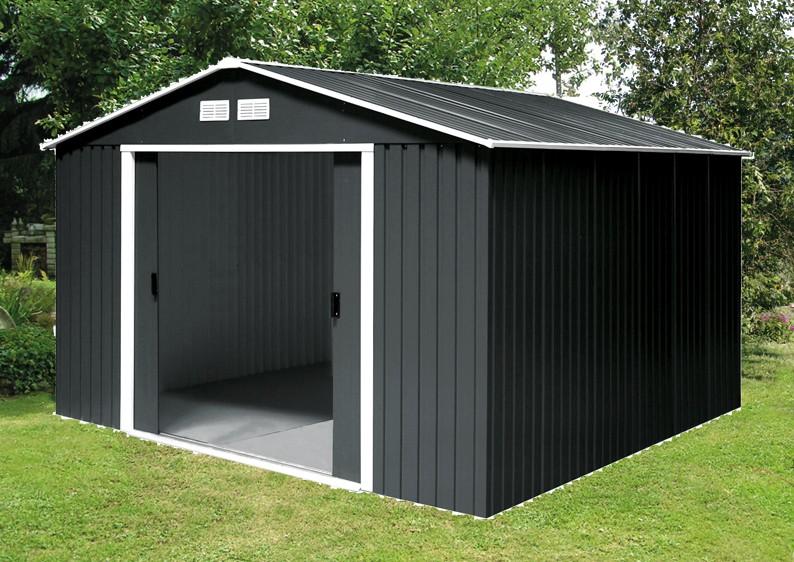 tepro ger tehaus metall titan 8x8 gr n. Black Bedroom Furniture Sets. Home Design Ideas