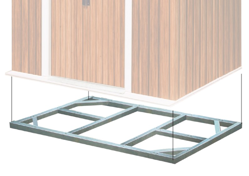 tepro metall unterkonstruktion titan 8x6. Black Bedroom Furniture Sets. Home Design Ideas