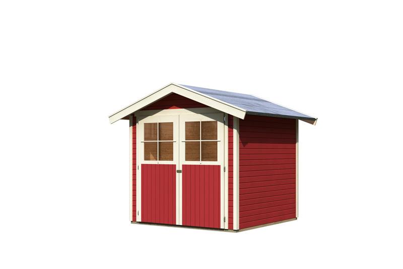 karibu gartenhaus harburg 3 satteldach 19 mm system. Black Bedroom Furniture Sets. Home Design Ideas