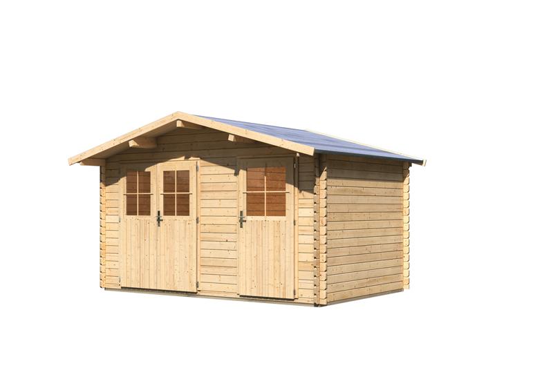 woodfeeling gartenhaus radur 0 satteldach 28 mm. Black Bedroom Furniture Sets. Home Design Ideas
