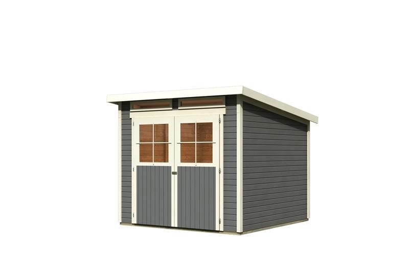 karibu gartenhaus gl cksburg 2 pultdach 19 mm system. Black Bedroom Furniture Sets. Home Design Ideas