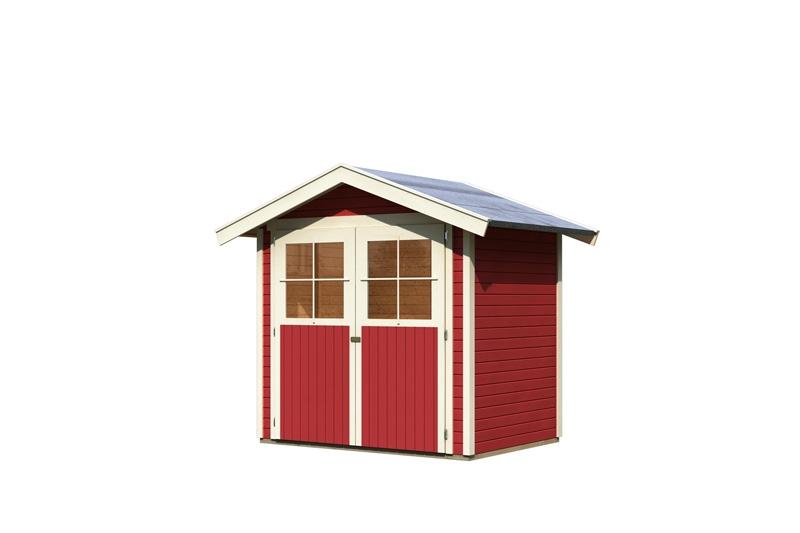 karibu gartenhaus harburg 2 satteldach 19 mm system. Black Bedroom Furniture Sets. Home Design Ideas