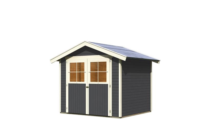 karibu gartenhaus harburg 4 19 mm schraub stecksystem. Black Bedroom Furniture Sets. Home Design Ideas
