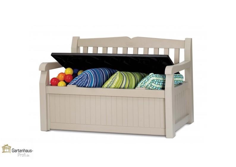 gartenbank kunststoff braun 162628 eine. Black Bedroom Furniture Sets. Home Design Ideas