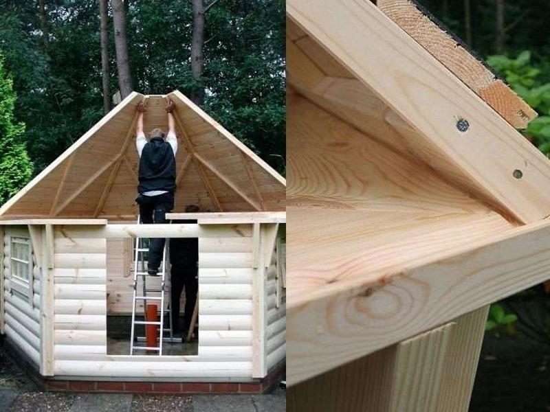 wolff finnhaus grillkota 9 de luxe mit saunabau inkl. Black Bedroom Furniture Sets. Home Design Ideas